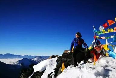 2020 四姑娘雪山之巅长坪沟徒步适 二峰登山培训全年计划(5日行程)
