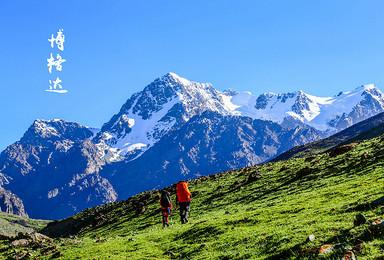 [寻找心中的雪莲]新疆博格达登山大本营6日轻装徒步品质摄影(6日行程)