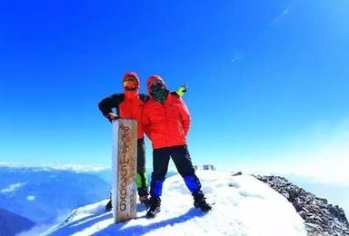 云南哈巴雪山5396米攀登计划 1比1协作登山(4日行程)