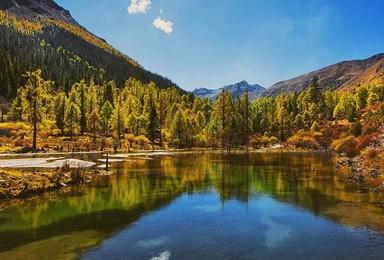 情迷玛嘉沟 行摄彩林 徒步探秘月亮湖 走进川西最后的处女圣地(3日行程)