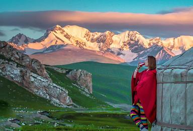 西藏拉萨阿里大北线穿越之旅 走进珠峰 无人区全程商务越野小团(13日行程)