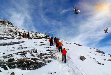 雪线之上  四姑娘山大峰攀登2.5天(3日行程)