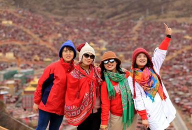 最美318川藏线 川进青出 色达 稻城亚丁 青藏线(16日行程)