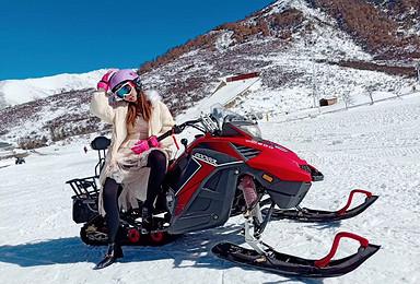 双景奇缘小团 鹧鸪山滑雪 冬日毕棚沟户外纯玩(2日行程)