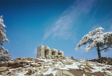 冬行第二季 | 徒步龙井峡,登顶白马尖(2日行程)