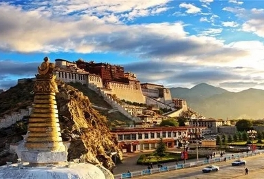 春节西藏 布达拉宫·大昭寺·米堆冰川·巴松措·雅鲁藏布(8日行程)