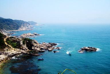 中国最美丽海岸线—深圳东西冲徒步穿越 一起看海去(1日行程)