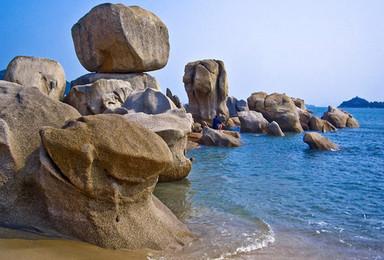 巽寮湾海岸线穿越---海螺角 捡海螺 赏巨石阵 最美浅海戏水(1日行程)