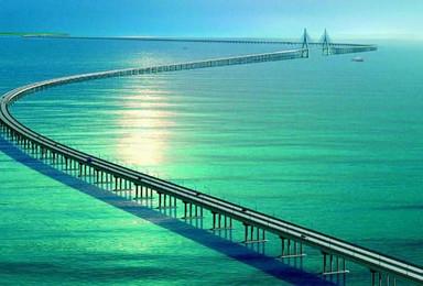"""珠海""""游船""""看港珠澳大桥 圆明新园感受明清盛世(1日行程)"""