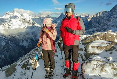 初级雪山 徒步长坪沟适应高海拔 加四姑娘山二峰攀登(6日行程)