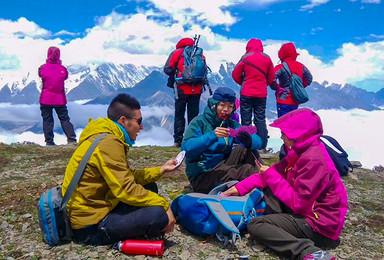 全年计划 贡嘎雪山全线穿越 贡嘎转山(7日行程)