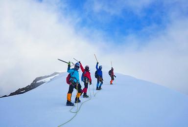 行走云端  技术山峰 那玛峰5588M攀登 1:2协作(6日行程)