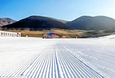 莲花山滑雪|全民滑雪季の少坐一会儿车 多滑一会儿雪(1日行程)