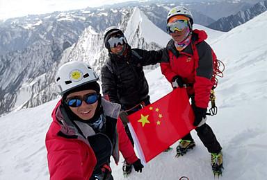 贡嘎 金银山 6410打破6000米级进阶 难度大于 半脊峰(10日行程)