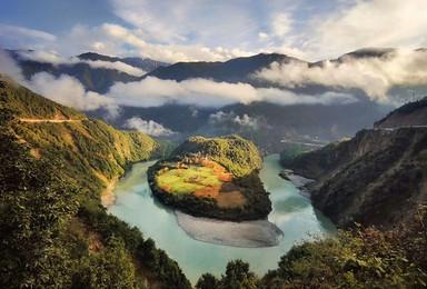 穿越三江并流 怒江丙中洛 独龙江 梅里雪山 维西滇金丝猴之旅(8日行程)