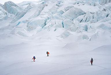 冰川探游贡嘎 徒步贡嘎山域 探秘绝美冰川 独家冰川徒步活动(7日行程)