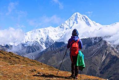 贡嘎转山升级版 贡嘎山大环线完美穿越 冷嘎措徒步(8日行程)