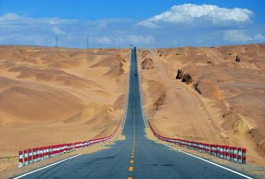 梦幻无人区|穿越3大荒漠禁区、沙漠轰趴/冲浪/蹦野迪+青海湖(9日行程)