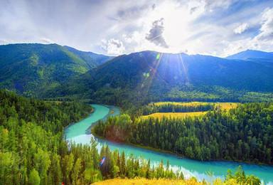 喀纳斯 禾木 天山天池 白哈巴 五彩滩 魔鬼城 深度北疆夏季(8日行程)