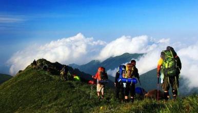 登顶北京最高峰东灵山 腾云驾雾赏旷世之美 灵山主峰 灵山(1日行程)