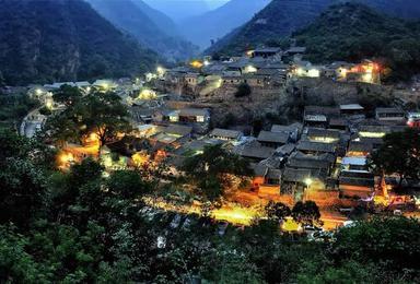 灵水村、龙门涧、灵水古村探索-8公里峡谷休闲-双景区(1日行程)