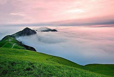武功山穿越高山草甸看最美云海金鼎日出吊马庄风车口发云界绝望坡(3日行程)