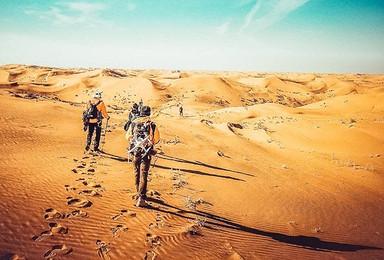 库布齐沙漠徒步露营大会暨沙漠彩跑节轻装18公里经典休闲游!(4日行程)