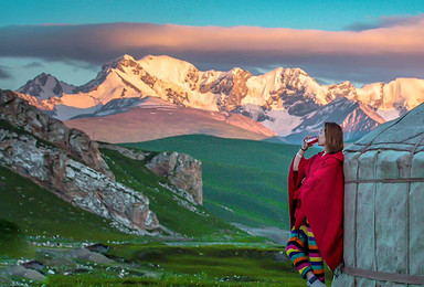 [珠峰东坡]中国十大经典徒步线路之西藏珠峰东坡嘎玛沟徒步(13日行程)