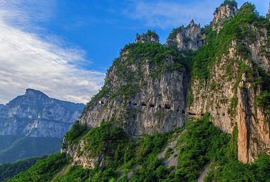 崖上人家 挂壁公路  经典南太行三天徒步(3日行程)