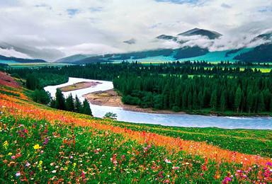 伊犁草原赛里木湖巴音布鲁克吐鲁番天山独库公路库木塔格沙漠(11日行程)