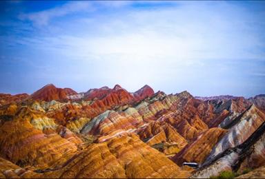 穿越3大荒漠禁区 茶卡盐湖敦煌莫高窟青海湖可可西里俄博梁雅丹(9日行程)