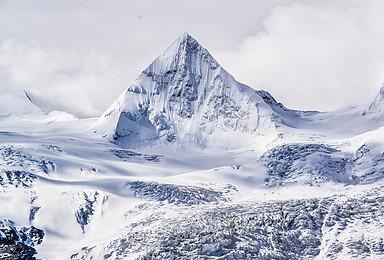 西藏萨普转山 圣湖 冰川 圣象天门轻装徒步 越野车4人小团(6日行程)