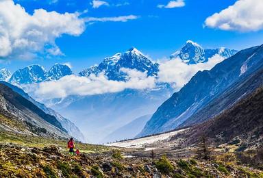[贡嘎转山]升级版贡嘎山大环线+冷嘎措徒步穿越8日(8日行程)