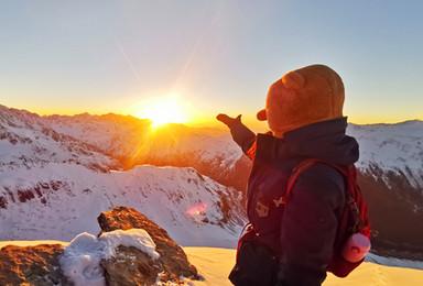 行走·雪线之上 四姑娘山大峰攀登 挑战人生中的第一个5千米(3日行程)