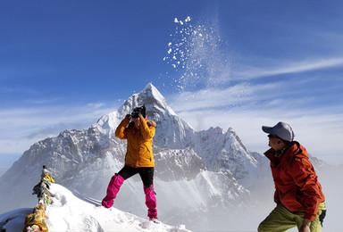 [雪山攀登]四姑娘山二峰攀登 挑战人生中的第一个5千米(5日行程)