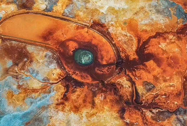 恶魔之眼艾肯泉、俄博梁火星营地、东台吉乃尔湖、水上雅丹纯玩(5日行程)
