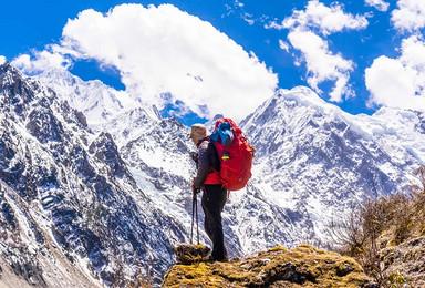 行走 · 探秘梅里北坡,轻吻卡瓦格博,走进神山深处的冰川密境(8日行程)