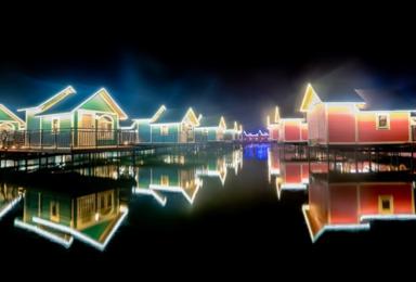 月坨岛 住海上小木屋 国内荷兰风情海岛 马尔代夫的浪漫情怀(2日行程)
