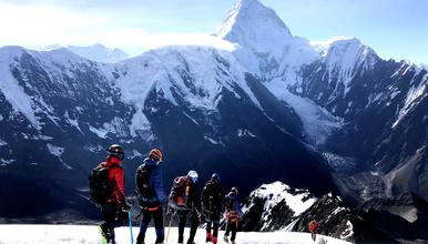 2020贡嘎卫峰 那玛峰5588米攀登(6日行程)