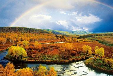 [梦幻秋色阿尔山越野]内蒙古海拉尔看草原景观,在草原放空心灵(7日行程)