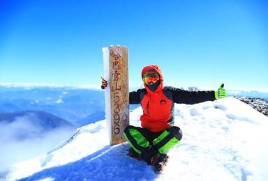 哈巴雪山攀登,挑战人生第一座雪山5396米(全年单号出发)(4日行程)