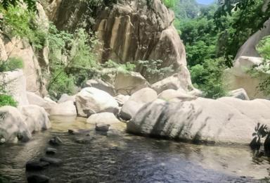 水泉沟穿越 北京五大最秀美的穿越线路之一 8公里伴溪行(1日行程)