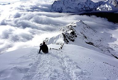 雪峰攀登 四姑娘山大海子露营 二峰攀登6日(6日行程)