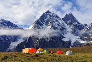 珠峰东坡嘎玛沟徒步-最美喜马拉雅徒步系列(13日行程)