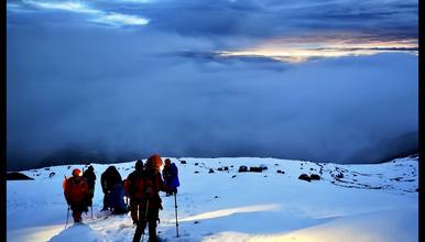 哈巴雪山攀登,挑战人生第一座雪山5396米(4日行程)