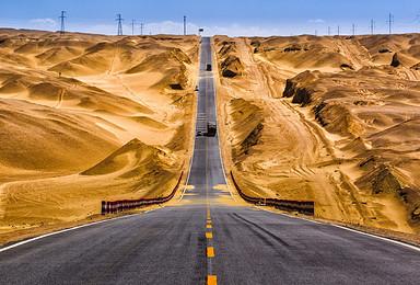 南疆穿越塔克拉玛干沙漠10日探秘之旅5人精致小团(10日行程)