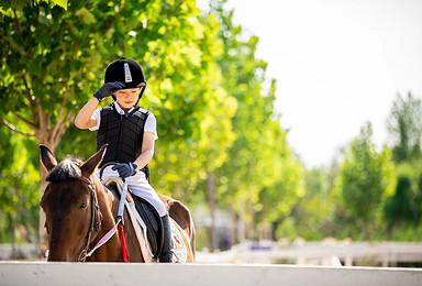 北京亲子bwin手机客户端1小时马背体验 专业教练一对一指导(1日行程)