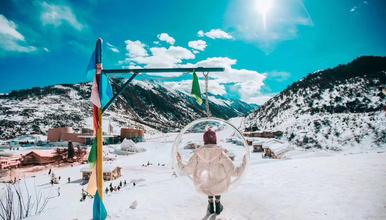 冬游九寨沟,鹧鸪山,毕棚沟,牟尼沟户外纯玩滑雪之旅(4日行程)