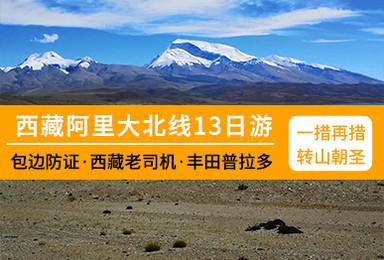 阿里大北线 冈仁波齐可转山 包含边防证 霸道越野车(13日行程)