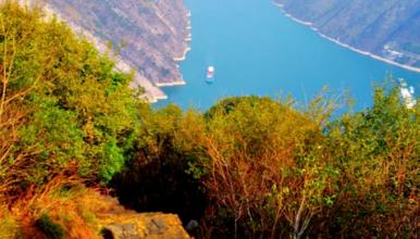 行走三峡 用脚步丈量长江三峡 360°观三峡红叶全景(7日行程)